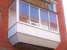 Балконы с выносом по отличной цене